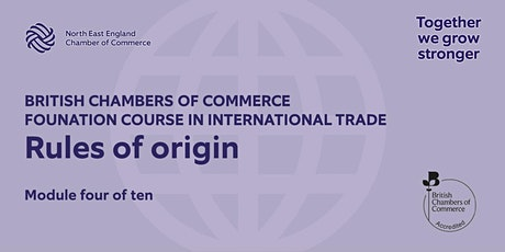 BCCFT: Rules of origin tickets