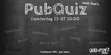 PubQuiz voor duo's | Waalwijk tickets