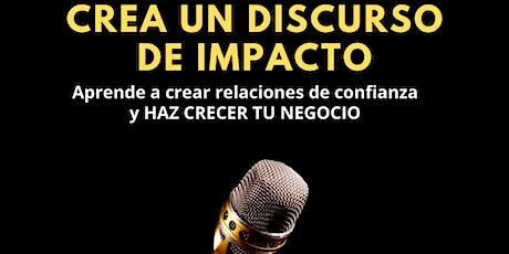 Crea un Discurso de Impacto y Haz Crecer Tu Negocio entradas