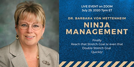 Ninja Management - Do you want to finally Reach that Stretch Goal!? tickets