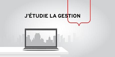 Séance d'info en ligne–Les études à Québec pour les étudiants étrangers billets
