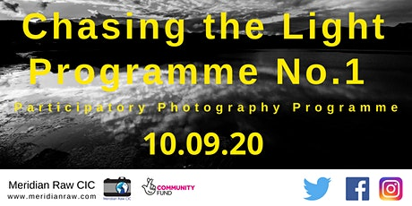 Chasing the Light  Photography Programme No.1 tickets