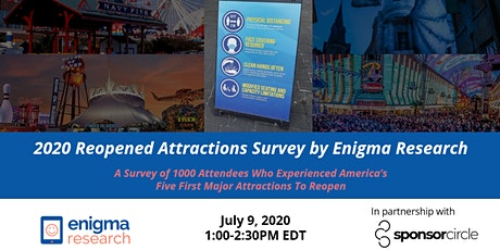 2020 Reopened Attractions Survey by Enigma Research tickets