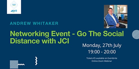 Networking Event: Go The Social Distance With JCI tickets