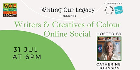 Writers & Creatives of Colour Online Social: with Catherine Johnson tickets