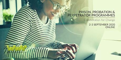 Prison, Probation & Perpetrator Programmes: Collaboration for Change biglietti
