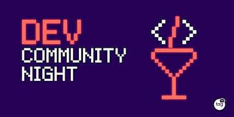 Dev Community Night | Come creare un'app in React & Typescript biglietti