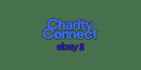 Kick-starter training - charities new to eBay tickets