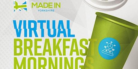 Made in Yorkshire Virtual Breakfast with Portakabin tickets