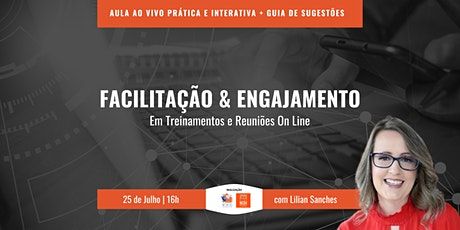 Workshop Facilitação e Engajamento Remoto ingressos