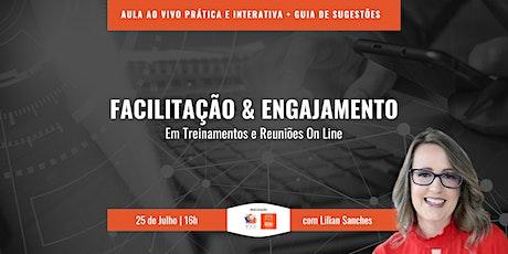 Workshop Facilitação e Engajamento Remoto bilhetes