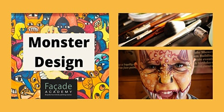 Facade Academy Online - Monster Design (12pm) tickets