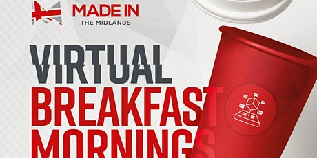 Made in the Midlands Virtual Breakfast with Comau tickets