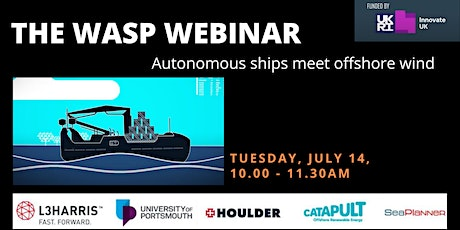 The WASP Webinar: Autonomous Ships Meet Offshore Wind tickets