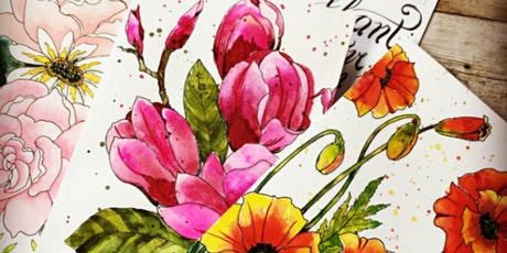 Draw and Paint Realistic Botanicals from Photographs in Watercolor - Part 1 tickets
