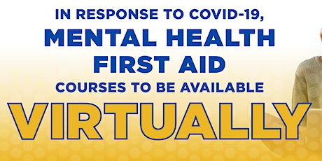 Virtual Youth Mental Health First Aid- For Adults interacting with Youth. tickets