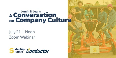 A Conversation on Company Culture tickets