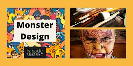 Facade Academy Online - Monster Design (8pm) tickets