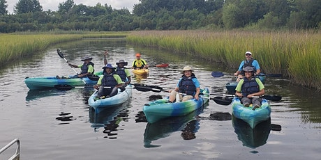 Launch and Learn Kayak and canoe outing tickets