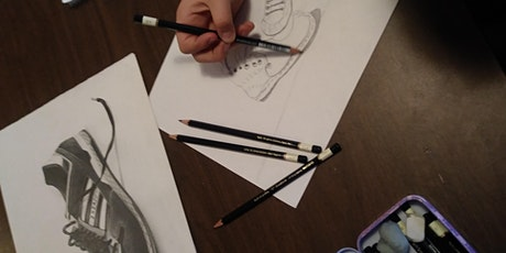 SUMMER ART CAMP: Expressive Drawing (ages 8-12) tickets