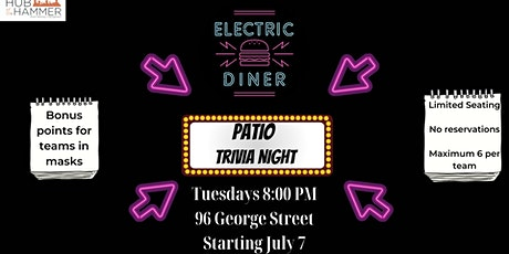 Patio Trivia at Electric Diner tickets