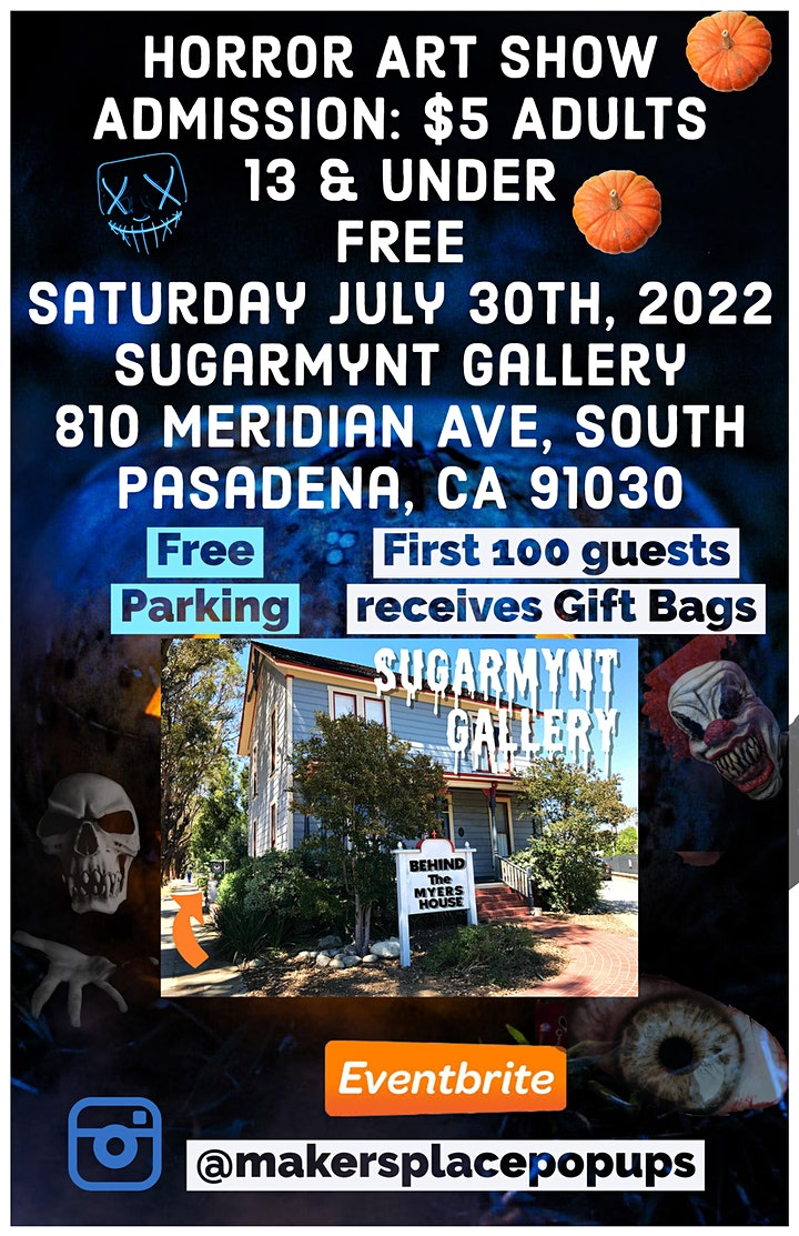 Horror Art Show next to the MICHAEL MYERS HOUSE image