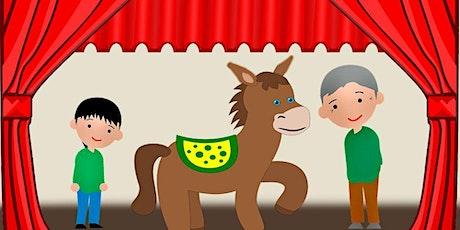 """Función de Teatro  """"El señor, el burro y el niño"""" entradas"""