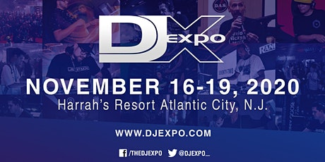 DJ Expo 2020 tickets