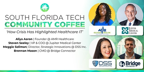 Community Coffee☕| 'How Crisis Has Highlighted Healthcare IT' tickets