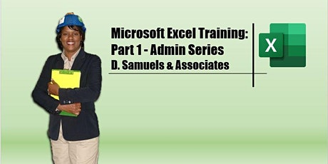 Microsoft Excel Training for  Administrative Assistants (DSA) tickets