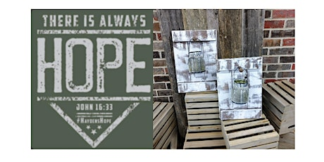 Hayden's Hope Benefit Class - 2 Wall Sconce with Hanging Lanterns tickets