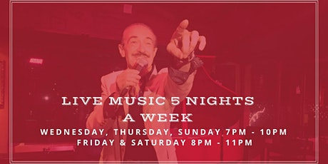 Live Music, 5 Nights a Week! tickets