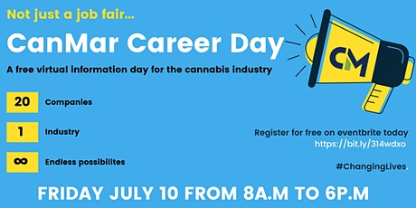 CanMar Recruitment Presents: CANMAR CAREER DAY - a Virtual Event ! tickets