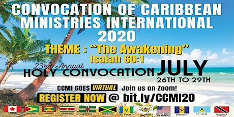Convocation 2020 tickets