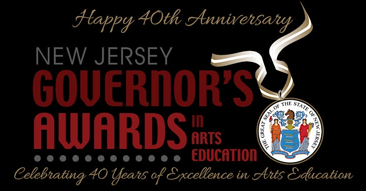 40th Anniversary of the New Jersey Governor's Awards in Arts Education image
