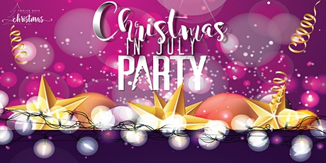 """Twelve Days """"Christmas in July"""" Virtual Soiree and Silent Auction tickets"""