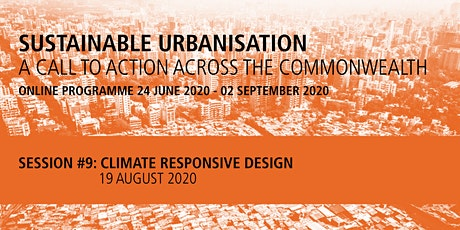 Commonwealth Sustainable Urbanisation Online Programme: Session 9 tickets