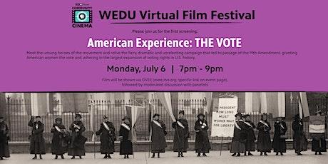 WEDU PBS Community Cinema - The Vote tickets