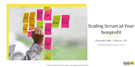 Scaling Scrum at Your Nonprofit tickets