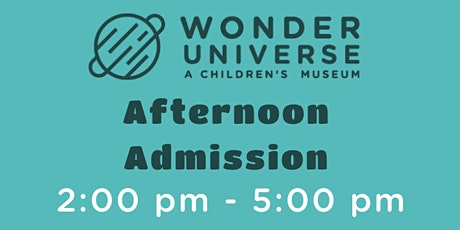 Museum Admission 2p - 5p tickets