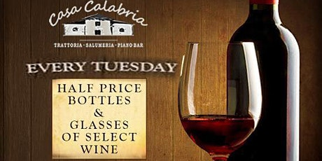 Half-Priced Wine Tuesdays ALL NIGHT! tickets