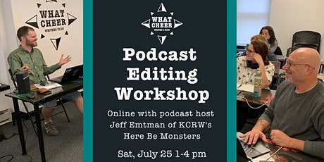 Podcast Editing Workshop tickets