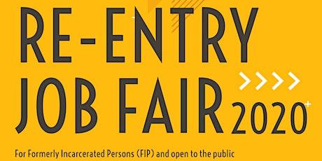Re-Entry Job Fair 2020 Employer Registration tickets