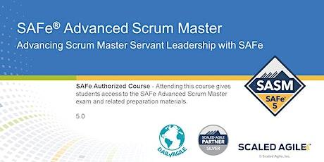 VIRTUAL! SAFe Advanced Scrum Master (SASM) Online Training, USA, Canada tickets
