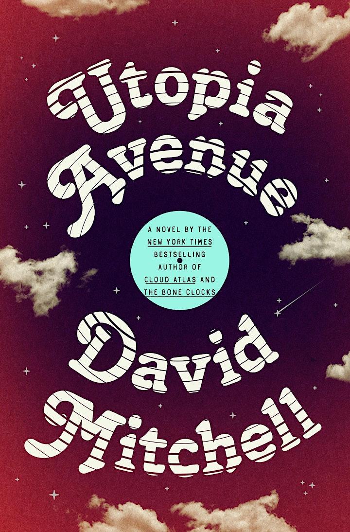 P&P Live! David Mitchell | UTOPIA AVENUE with Neil Gaiman image