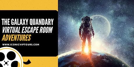 The Galaxy Quandary Virtual Escape Room  Adventure PRIVATE tickets