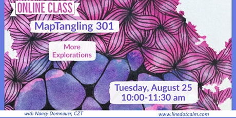 Zentangle® MapTangling 301 tickets