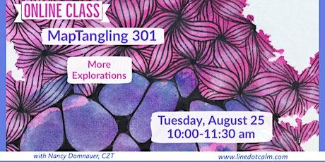 Zentangle® MapTangling 301 Tickets