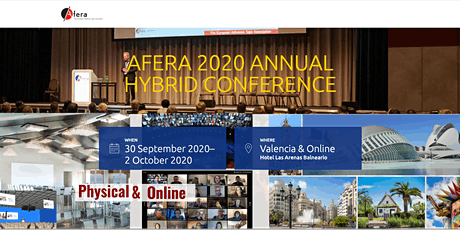 (Online) Afera 2020 Annual Hybrid Conference tickets