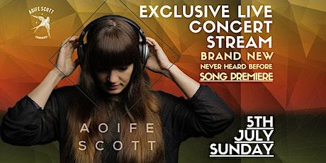 Aoife Scott Live Stream Concert tickets